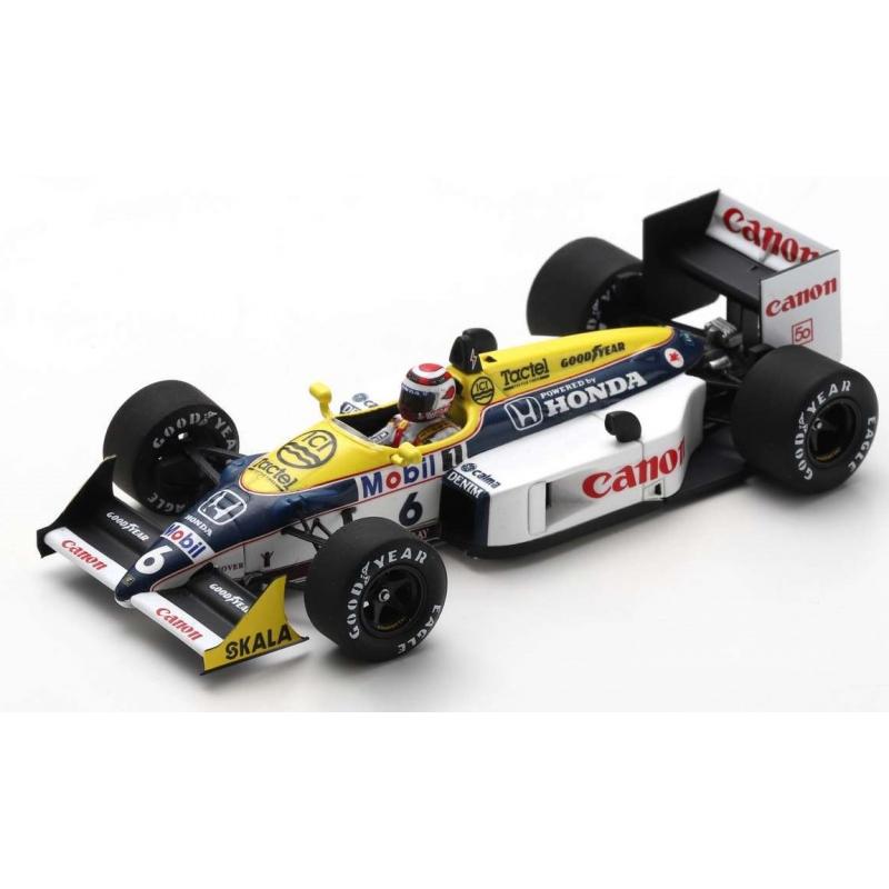 SPARK Williams FW11B n°6 Piquet Winner Hungaroring 1987 (%)