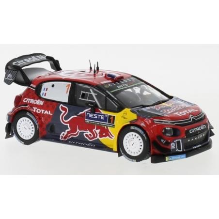IXO Citroen C3 WRC n°1 Ogier Finlande 2019