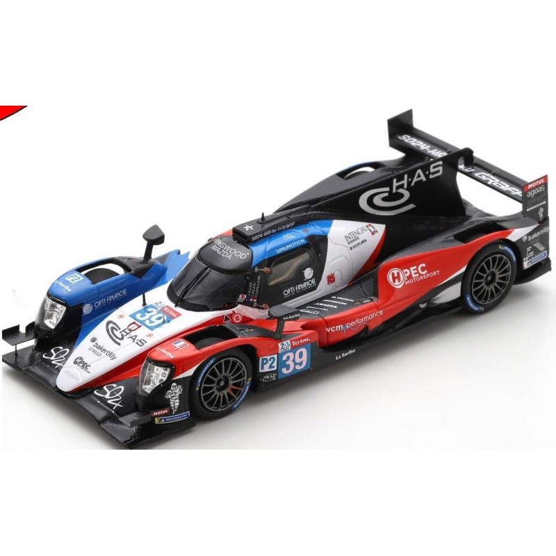 SPARK Oreca 07 - Gibson n°39 24H Le Mans 2020