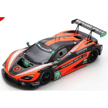SPARK McLaren 720S GT3 n°76 Mid-Ohio 2019
