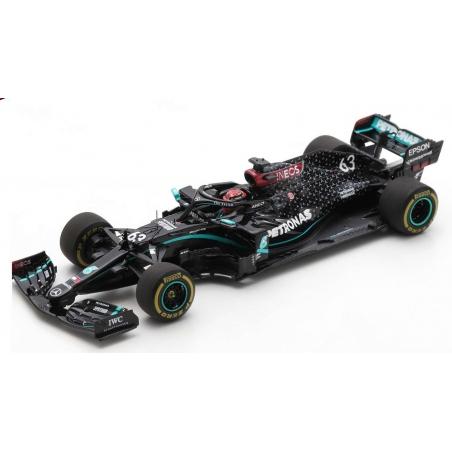 SPARK Mercedes W11 n°63 Russell Sakhir GP 2020