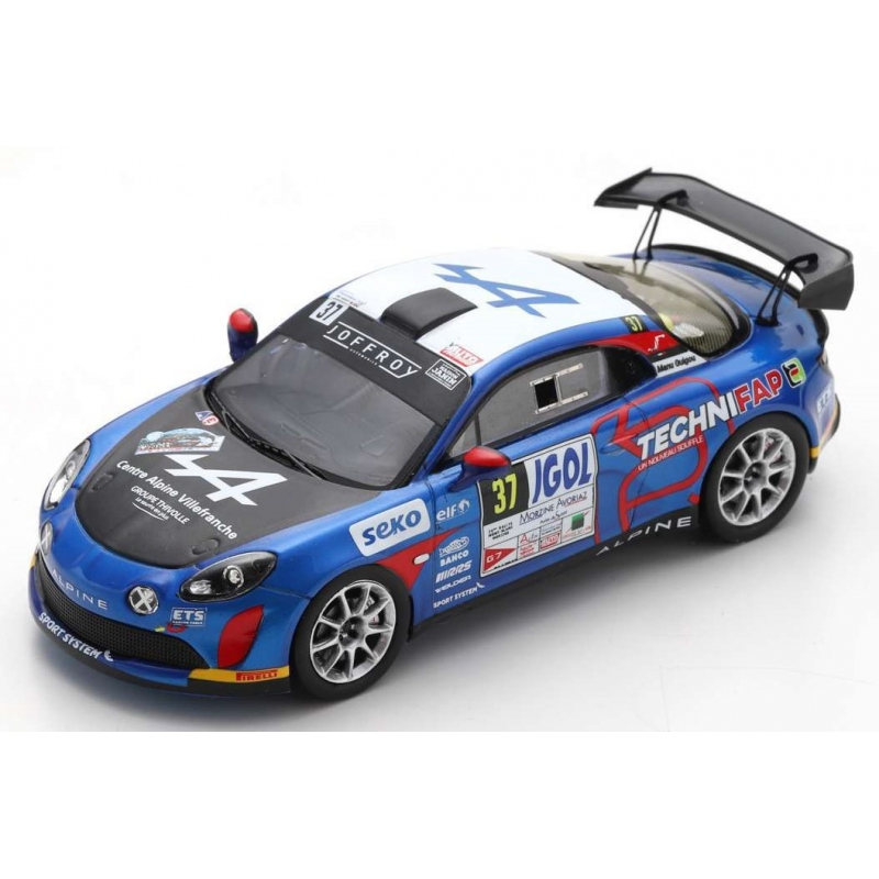 SPARK SF238 Alpine A110 Rally n°37 Rallye Mont-Blanc Morzine 2020