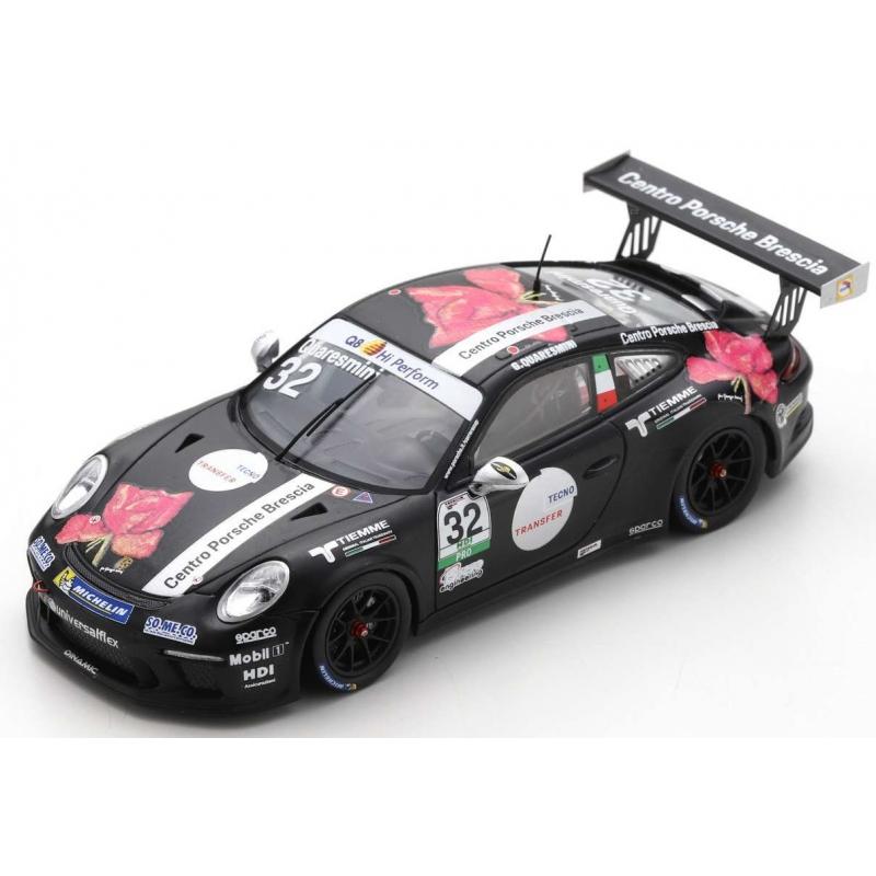 SPARK Porsche 911 GT3 Cup n°32 Porsche Carrera Cup Italia Champion 2018