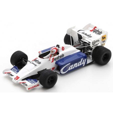 SPARK S2779 Toleman TG184 n°20 Cecotto Monaco 1984
