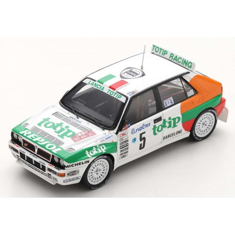 SPARK S9025 Lancia Delta HF Integrale EVO n°5 Aghini Monte Carlo 1993