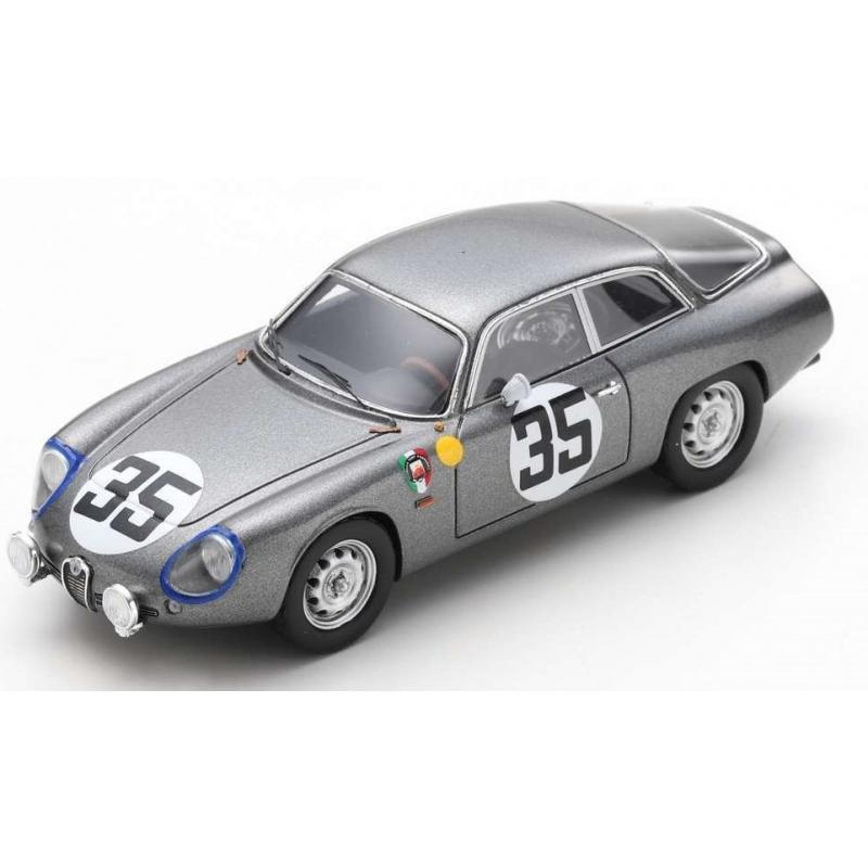 SPARK Alfa Romeo Giulietta Sport Zagato n°35 24H Le Mans 1963 (%)