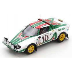 SPARK S9082 Lancia Stratos HF n°10 Munari Vainqueur Monte Carlo 1976