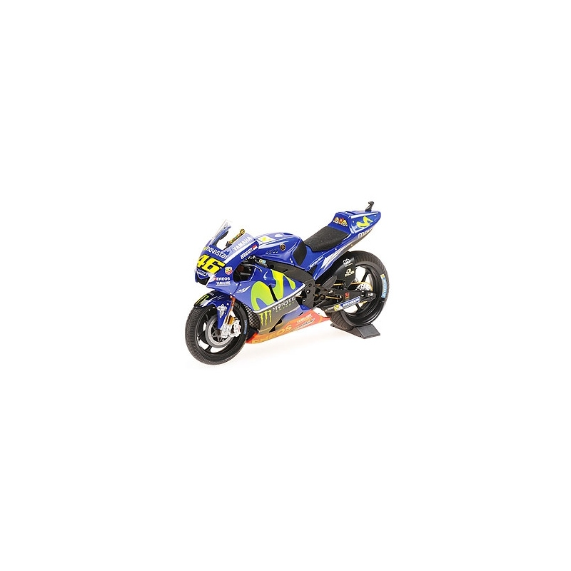 MINICHAMPS 1/12 Yamaha YZR-M1 Rossi Sepang MotoGP 2017