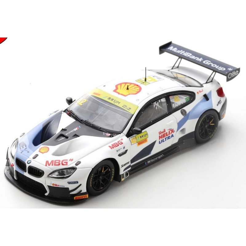 SPARK BMW M6 GT3 n°42 Farfus FIA GT World Cup Macau 2019