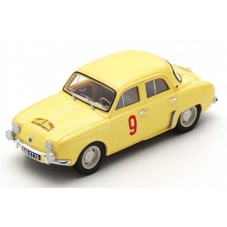 SPARK Renault Dauphine n°9 Thirion Vainqueur Tour de Corse 1956