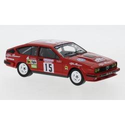 IXO RAC319 Alfa Romeo GTV6 n°15 Balas Tour de Corse 1986