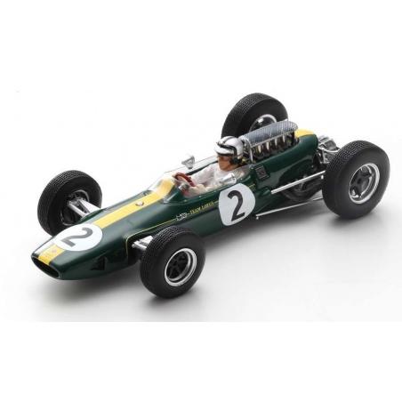 SPARK Lotus 33 n°2 Pedro Rodríguez Reims 1966