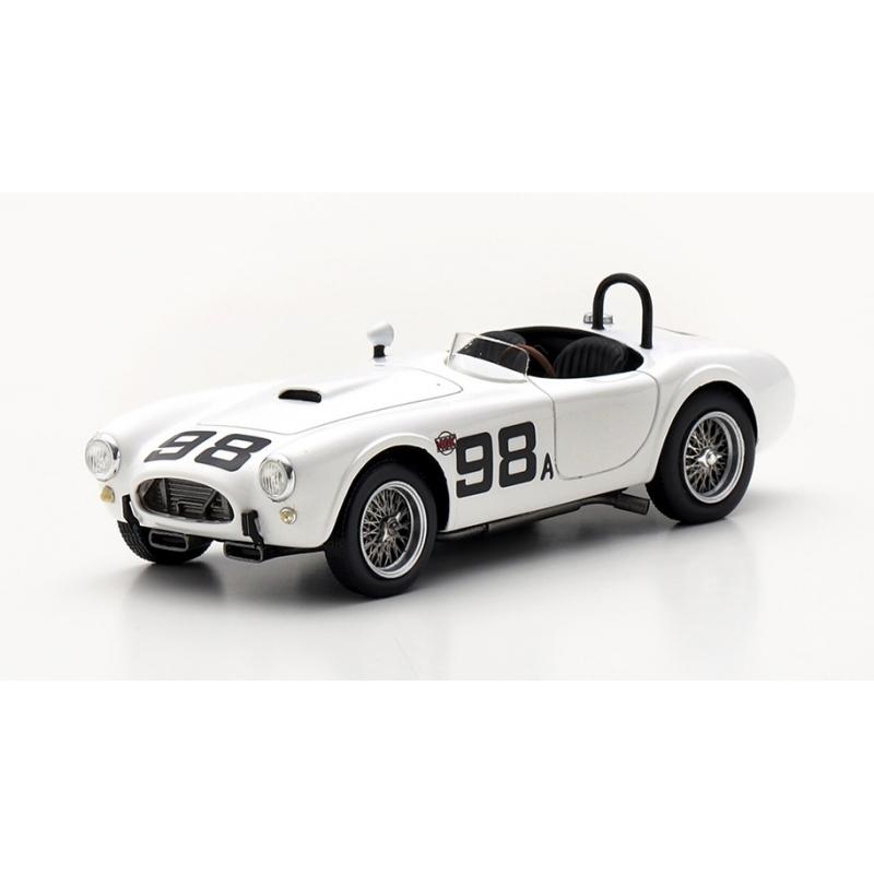 TRUESCALE Shelby Cobra CSX2008 n°98 Ken Miles Riverside 1963 (%)