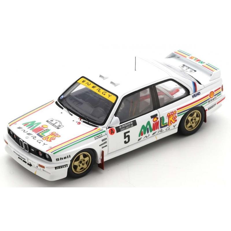 SPARK S7826 BMW M3 E30 n°5 Vatanen 1000 Lacs Finlande 1988