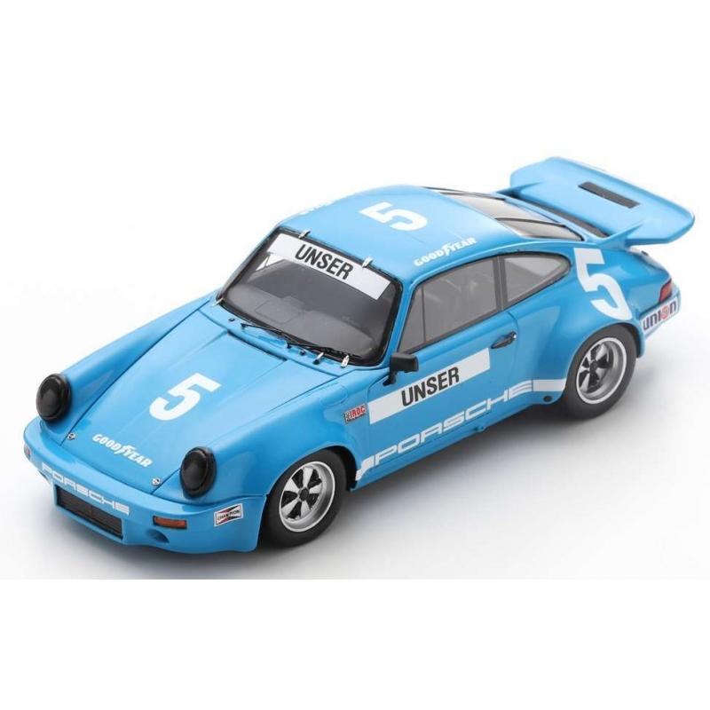SPARK Porsche RS 3.0 n°5 Unser IROC Daytona 1974