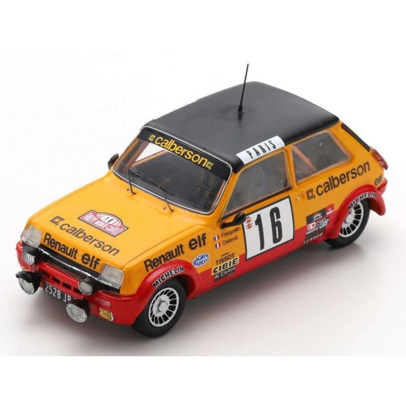 SPARK Renault 5 Alpine n°16 Fréquelin Monte Carlo 1979