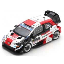 SPARK S6582 Toyota Yaris WRC n°1 Ogier Vainqueur Monte Carlo 2021