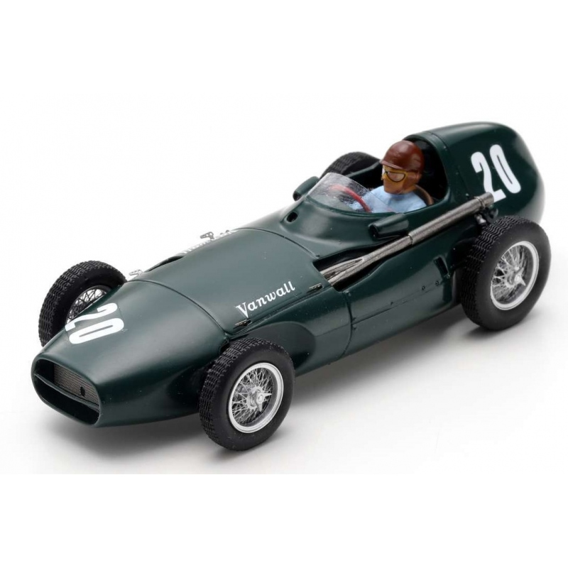 SPARK Vanwall VW5 n°20 Brooks Monaco 1957