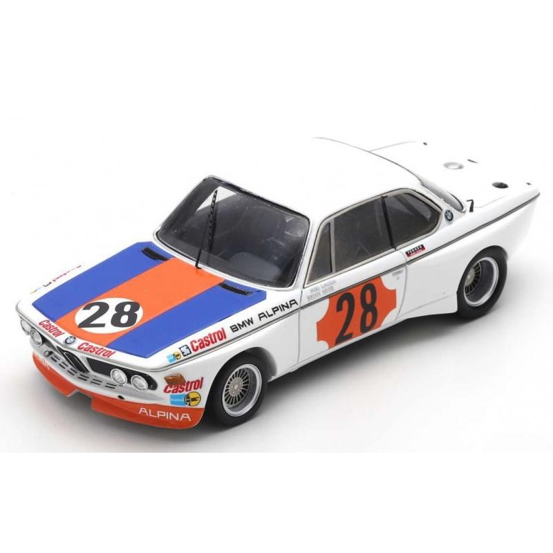 SPARK BMW CSL n°28 Lauda Winner Gr.2 Coupes de Spa 1973