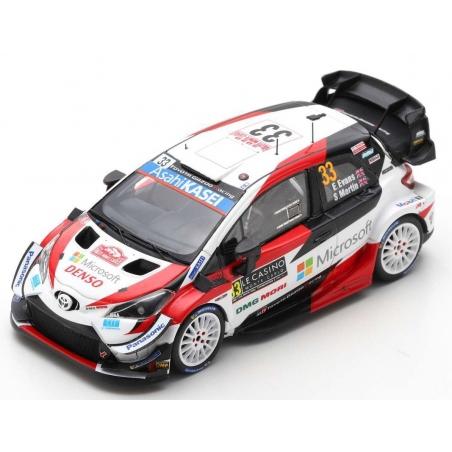 SPARK Toyota Yaris WRC n°33 Evans Monte Carlo 2020