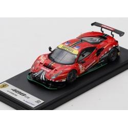 LOOKSMART LSLM109 Ferrari 488 GTE EVO n°52 Le Mans 2020