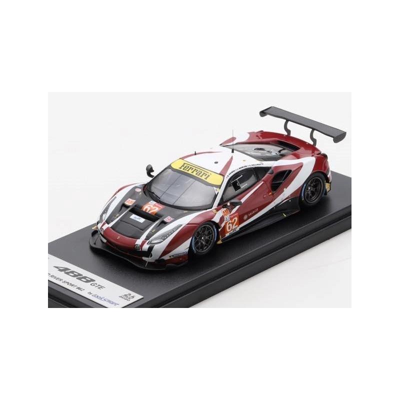 LOOKSMART LSLM114 Ferrari 488 GTE EVO n°62 Le Mans 2020