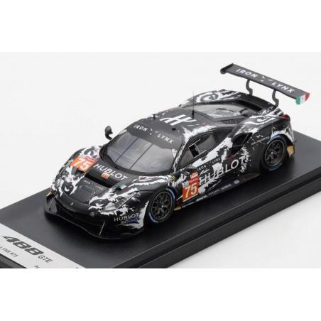 LOOKSMART LSLM118 Ferrari 488 GTE EVO n°75 Le Mans 2020