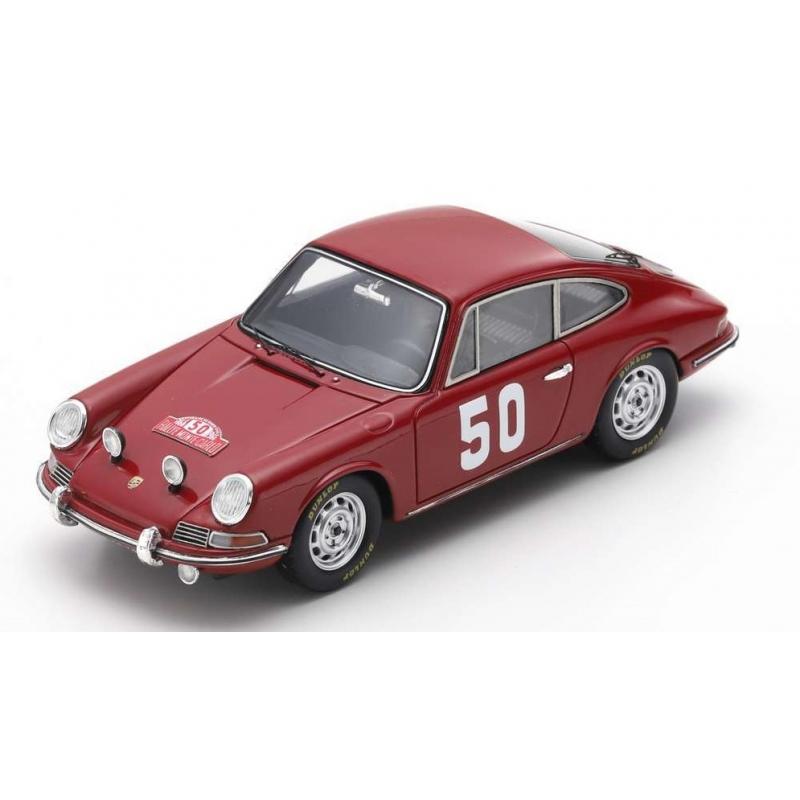 SPARK Porsche 911 n°50 Perrier Monte Carlo 1966