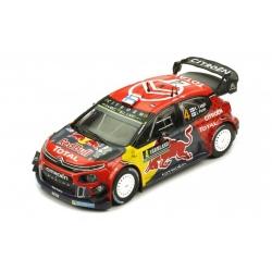 IXO Citroen C3 WRC n°4...