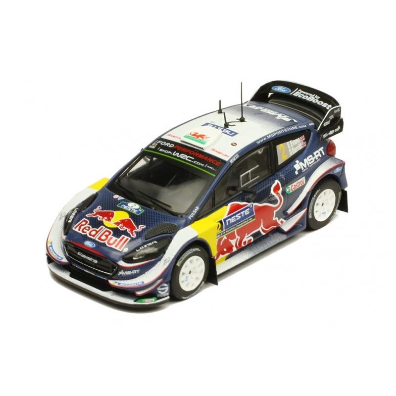 IXO Ford Fiesta WRC n°2 Evans Finlande 2018