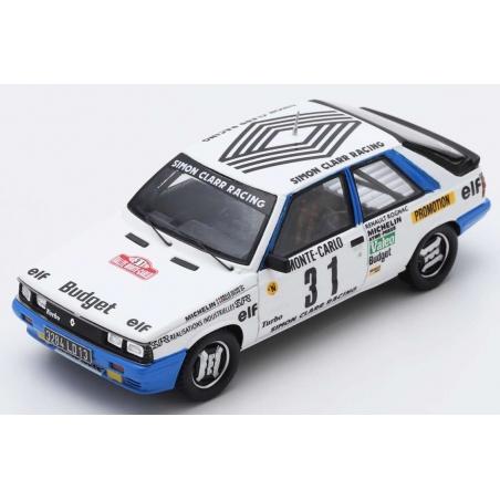 SPARK Renault 11 Turbo n°31 Oreille Monte Carlo 1985