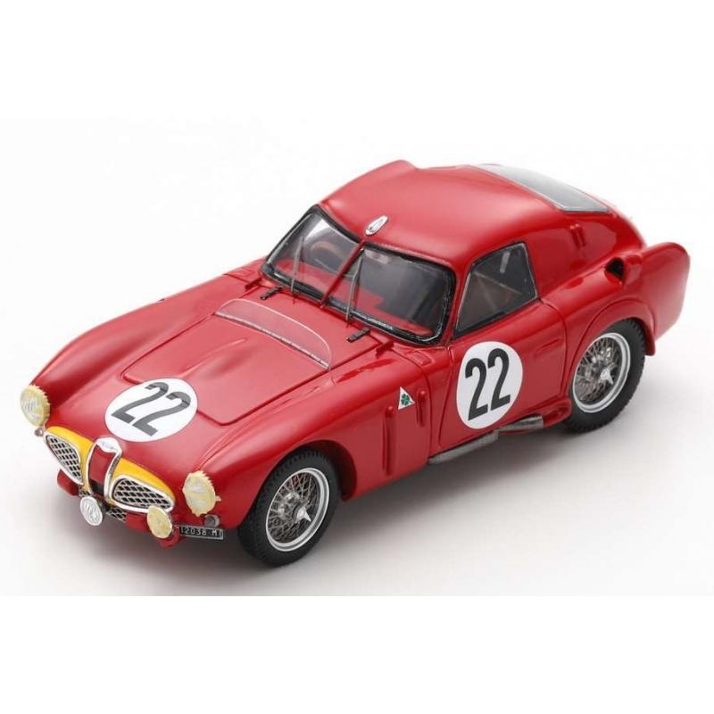 SPARK S4703 Alfa Romeo 6C 3000 CM n°22 24H Le Mans 1953