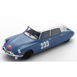 SPARK S5531 Citroen DS19 n°233 Toivonen Monte Carlo 1963