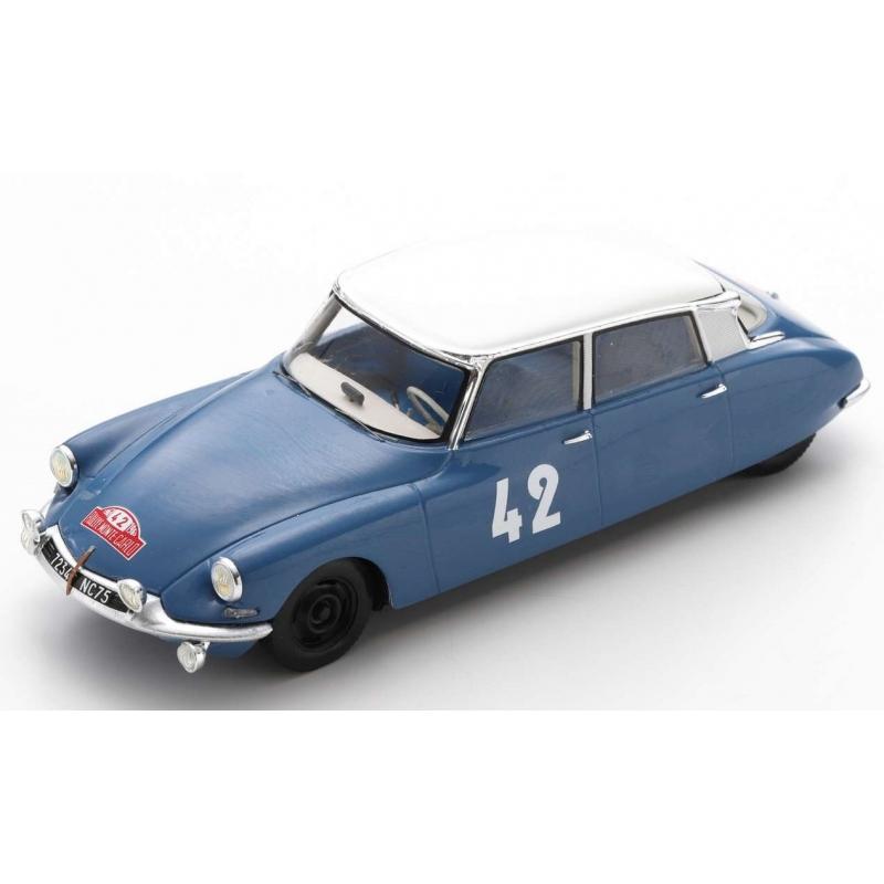 SPARK Citroen DS19 n°42 Bianchi Monte Carlo 1963 (%)