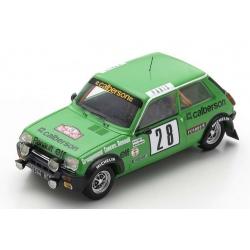 SPARK Renault 5 Alpine n°28...