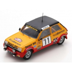 SPARK S6038 Renault 5 Alpine n°11 Ragnotti Monte Carlo 1979