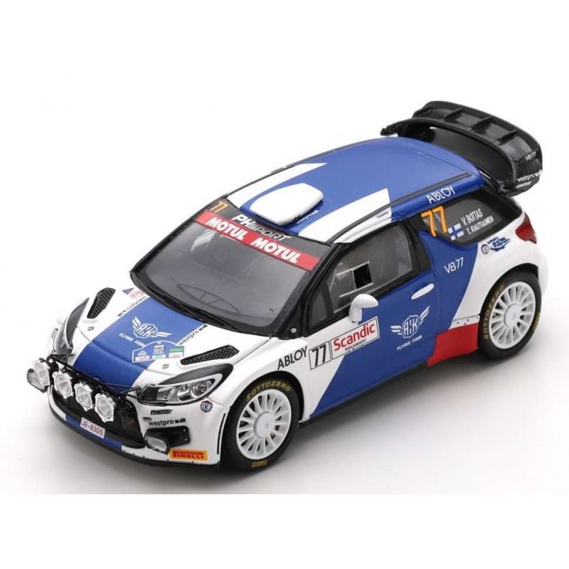 SPARK S6566 DS3 WRC n°77 Bottas Arctic Lapland Rally 2020