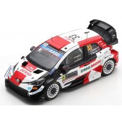 SPARK S6583 Toyota Yaris WRC n°33 Evans Monte Carlo 2021