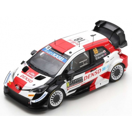 SPARK S6585 Toyota Yaris WRC n°18 Katsuta Monte Carlo 2021