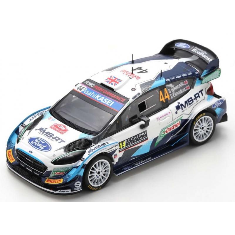 SPARK Ford Fiesta WRC n°44 Greensmith Monte Carlo 2021 (%)