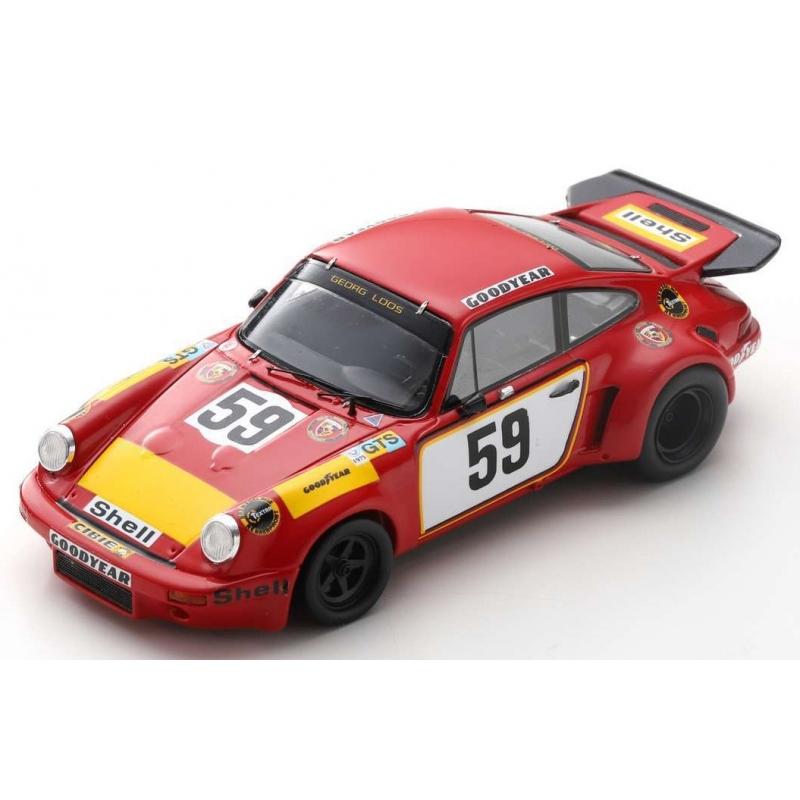 SPARK S9974 Porsche 911 Carrera RSR n°59 24H Le Mans 1975