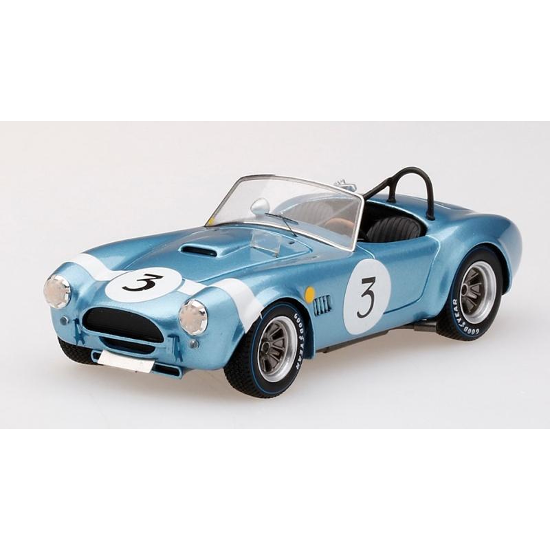 TRUESCALE Shelby Cobra n°3 Bondurant 500 KM Spa 1964
