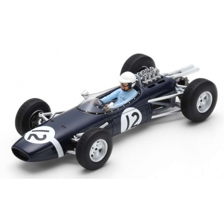 SPARK Brabham BT7 n°12 Bonnier Monaco 1965