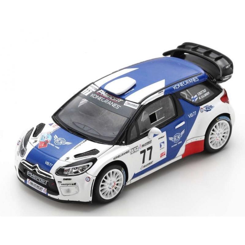 SPARK SF170 DS3 WRC n°77 Bottas Winner Circuit Côte d'Azur 2019