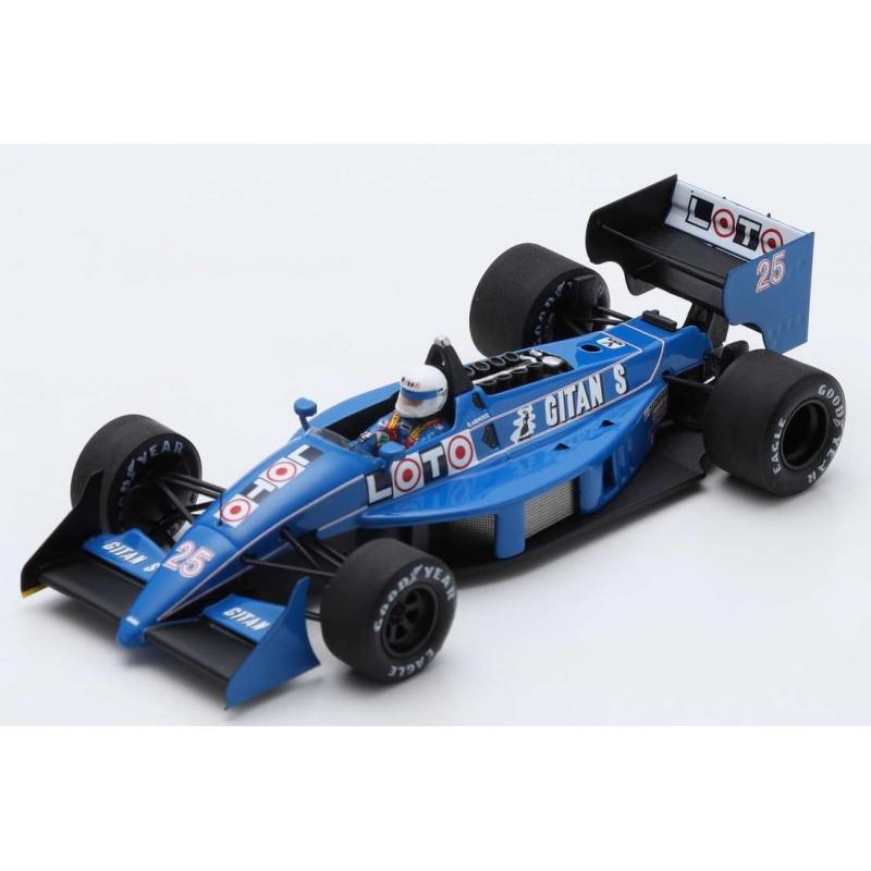 SPARK Ligier JS31 n°25 Arnoux Monaco 1988