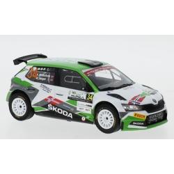 IXO RAM771 Skoda Fabia R5 Evo n°34 Mikkelsen WRC Monza 2020