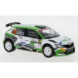 IXO RAM772 Skoda Fabia R5 Evo n°28 Lindholm WRC Monza 2020