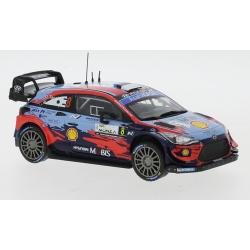IXO RAM769 Hyundai i20 Coupe WRC n°8 Tanak Monza 2020