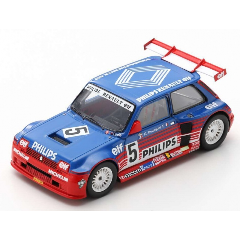SPARK SF054 Renault 5 Maxi Turbo Superproduction n°5 Bousquet 1987