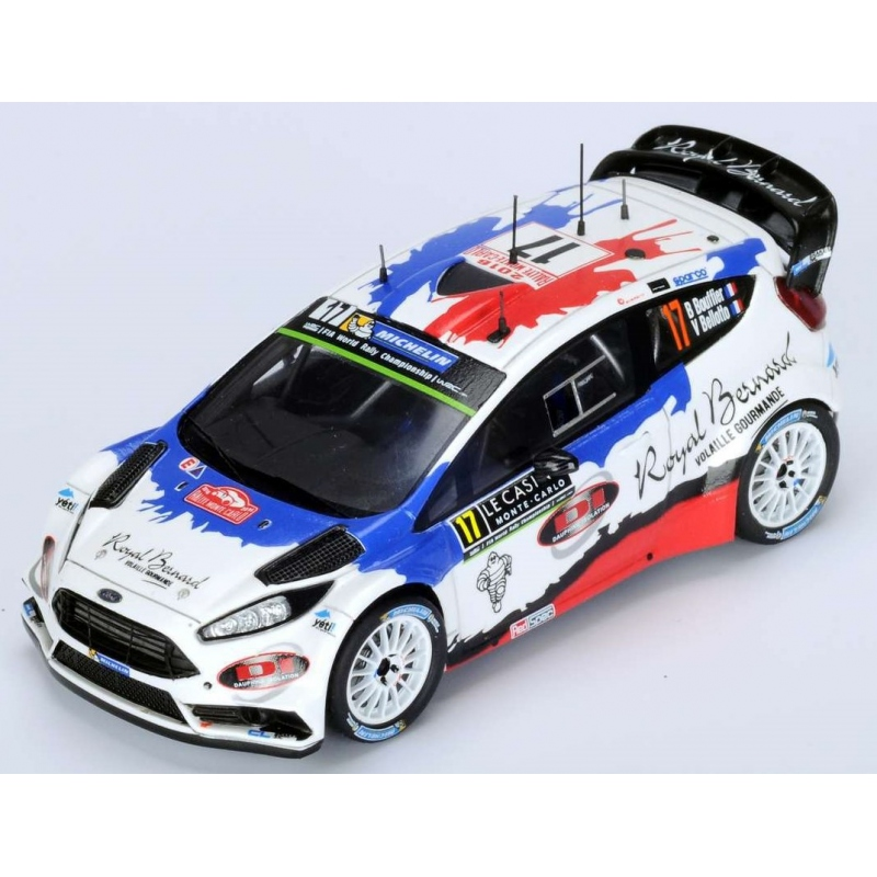 SPARK S4970 Ford Fiesta RS WRC n°17 Bouffier Monte Carlo 2016